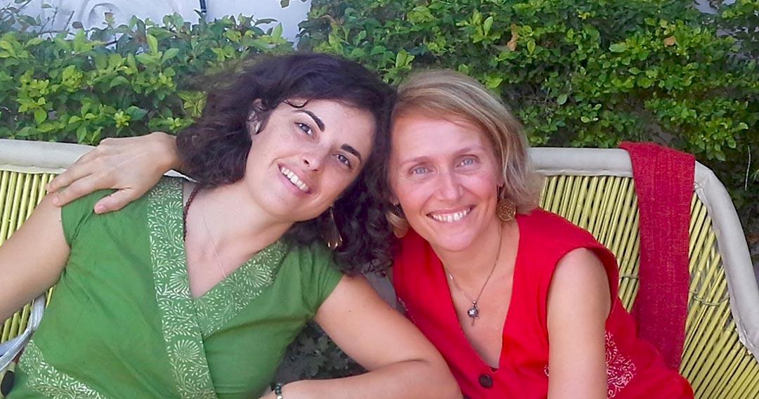 Paola e Geraldine Blue Leef