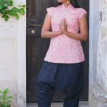 camicia cotone bio tintura vegetale