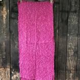sciarpa loom seta cotone fuxia