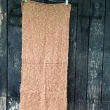 sciarpa loom seta cotone marrone