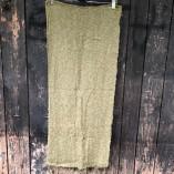 sciarpa loom seta cotone verde