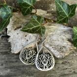 orecchini fiori di loto aplaca