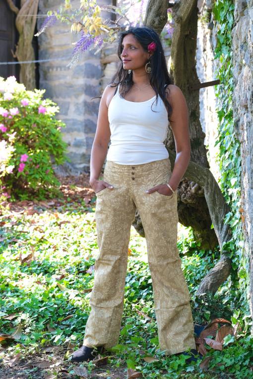 pantaloni bottoni cotone bio tintura vegetale fronte 1 finale