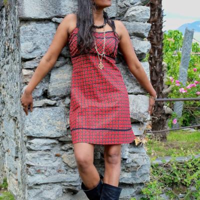 vestito bustino cotone