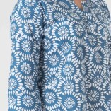 Camicia Lunga Simple Cotone Bio Tintura Vegetale-3