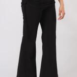 Pantaloni con Gonnellina in Bambù Nero-4